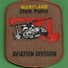 Maryland State Police Helicopter Air Unit Patch
