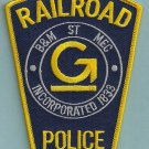 Guildford Boston & Maine Railroad Police Patch
