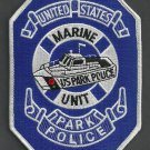 United States Park Service Police Marine Patrol Patch
