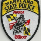 Maryland State Police Motorcycle Patch