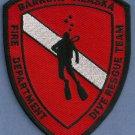 Barrow Alaska Fire Dive Team Patch
