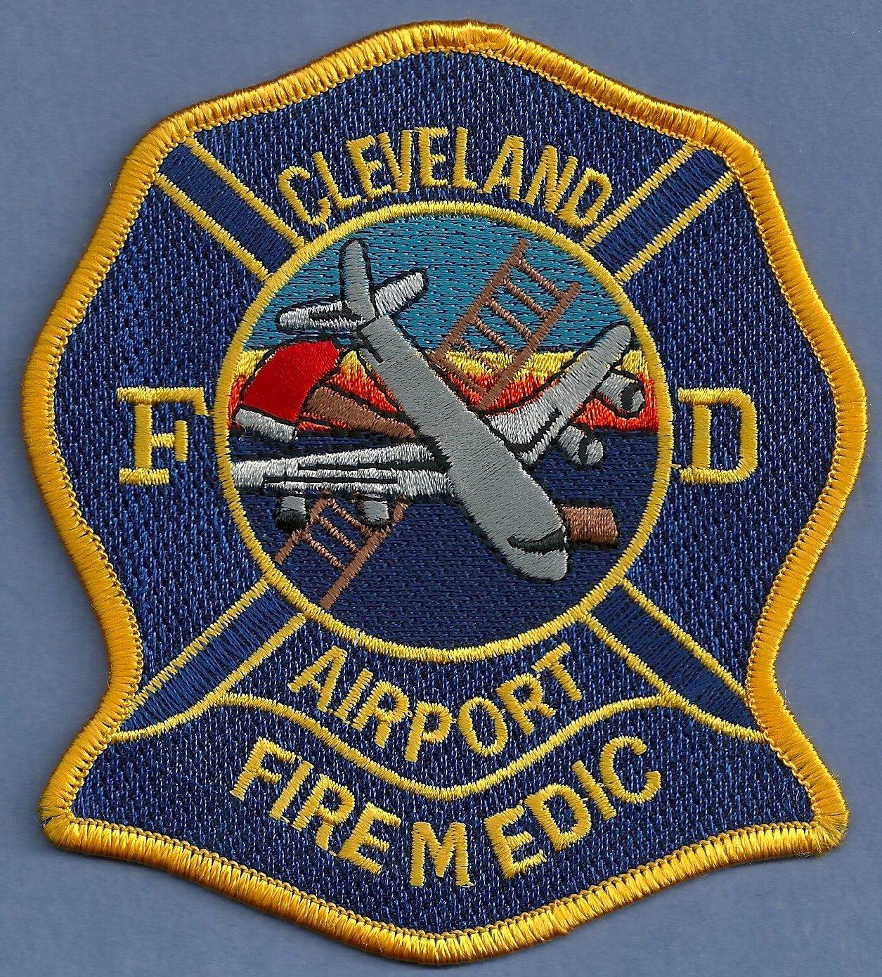 Cleveland International Airport Fire Rescue Patch ARFF