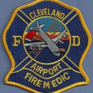 Cleveland International Airport Fire Rescue Patch ARFF