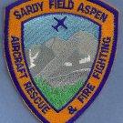 Aspen Sardy Regional Airport Fire Rescue Crash Patch ARFF