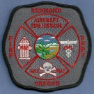 Redmond Regional Airport Fire Rescue Patch ARFF