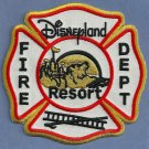 Disneyland Resort California Fire Rescue Patch