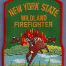 New York State Wildland Firefighter Fire Patch