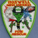 Roswell New Mexico Fire Patch Space Alien!