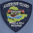 Ascension Island Fire Rescue Patch