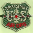 U.S. Forest Service Air Operations Fire Patch