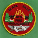 Black Hills South Dakota National Park Service Fire Patch