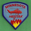 Minnesota Forestry Fire Helitack Patch