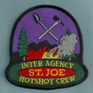 St. Joe Idaho USFS BLM Hot Shot Crew Fire Patch