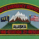 Butte Alaska Fire Rescue Patch