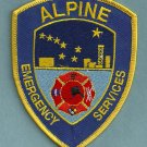 Alpine Alaska Fire & Emergency Services Patch