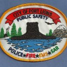 Port Lions Alaska Fire Police EMS Patch