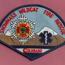 Snowmass-Wildcat Colorado Fire Patch