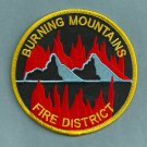 Burning Mountains Colorado Fire Patch