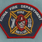 Kiowa Colorado Fire Rescue Patch