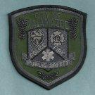 Kalamazoo Michigan Fire Police Patch