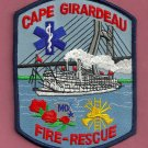 Cape Girardeau Missouri Fire Patch River Boat