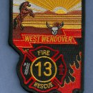 West Wendover Nevada Fire Patch