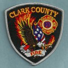 Clark County Nevada Fire Patch