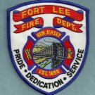 Fort Lee New Jersey Fire Patch