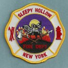 Sleepy Hollow New York Fire Patch