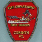 Corinth Vermont Fire Patch