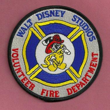 Walt Disney Studios California Volunteer Fire Rescue Patch