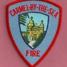 Carmel California Fire Patch