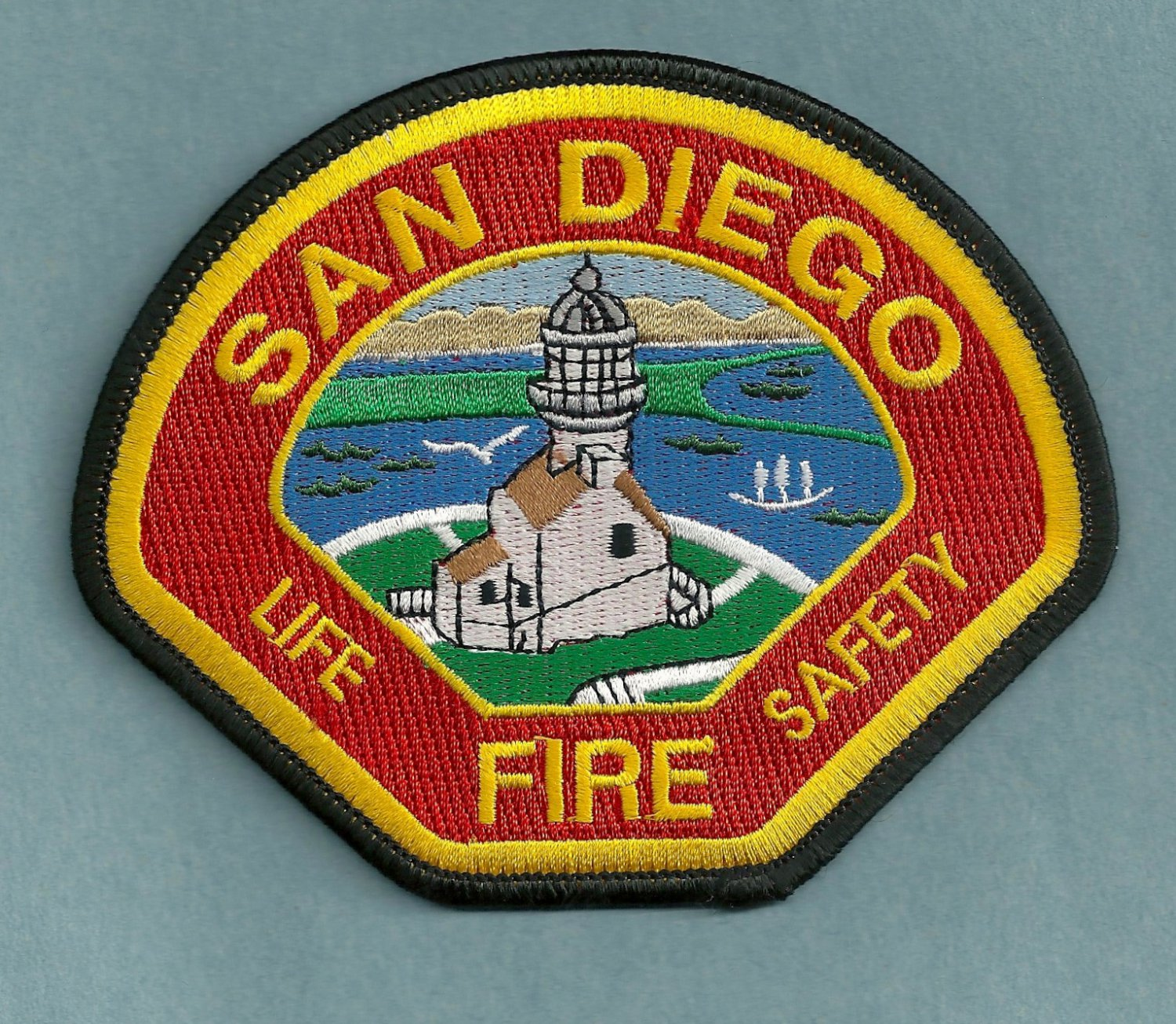 San diego california fire patch for Michaels craft store rancho san diego