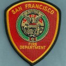 San Francisco California Fire Patch