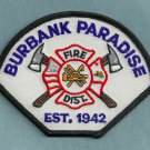 Burbank-Paradise California Fire Patch