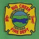 Big Creek California Fire Patch