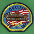 Orcutt California Fire Patch