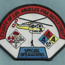Los Angeles County California Special Operations Helicopter Fire Patch
