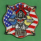 Los Angeles County California Haz Mat 105 Fire Patch
