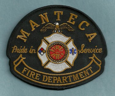 Manteca California Fire Patch