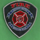 Detroit Metro International Airport Fire Rescue Patch ARFF