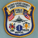 Toledo Lucas County Regional Airport Fire Rescue Patch ARFF