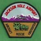 Jackson Hole Regional Airport Fire Rescue Patch ARFF