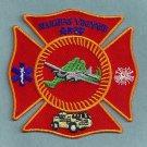 Marthas Vineyard Municipal Airport Fire Rescue Patch ARFF