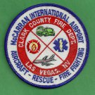 Las Vegas McCarran International Airport Fire Rescue Patch ARFF
