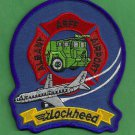 Albany Lockheed Regional Airport Fire Rescue Patch ARFF