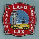 Los Angeles International Airport Fire Rescue Crash Patch ARFF