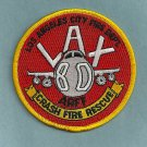 Los Angeles International Airport Fire Rescue Crash 80 Patch ARFF