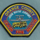 John Wayne International Airport Fire Rescue Patch ARFF