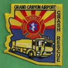 Grand Canyon Municipal Airport Fire Rescue Patch ARFF